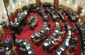 Autoridades legislativas para el 2013