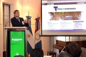 Portal sobre transparencia municipal