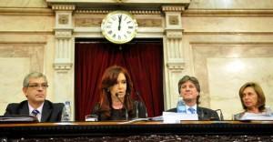 """La oposición cuestionó a CFK por la """"politización"""" de la Justicia"""