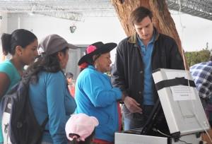 """López Miro: """"El voto electrónico  es una gran innovación para los salteños"""""""