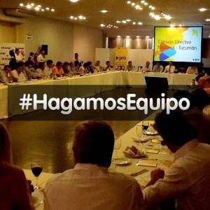 La plana mayor del PRO se reunió en Tucumán