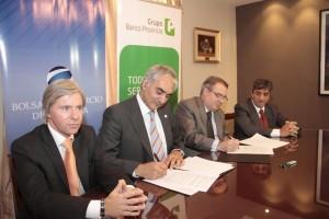 Convenio Bapro y Bolsa de Comercio por competitividad de grandes empresas y Pymes