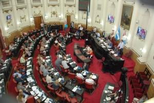 Actividad parlamentaria en la Unicameral