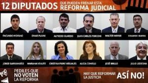 """Tildaron de """"inconstitucional"""" proyectos de la reforma a la justicia"""