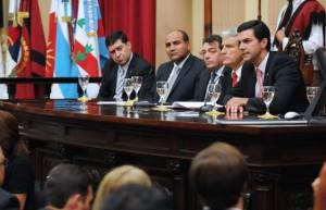 Urtubey se refirió al federalismo en la Argentina en el Parlamento del NOA