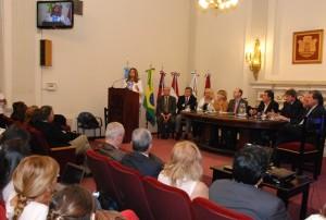 Parlamentarios del Mercosur debatieron sobre el Corredor Bioceánico Central