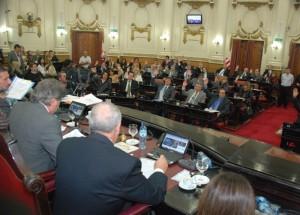 Oficialismo y radicalismo aprobaron decreto de DLS