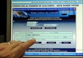 Formalizan convocatoria a elecciones y piden a los votantes verificar datos de padrones