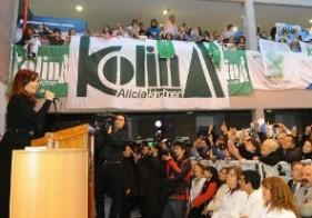 CFK acto rio gallegos