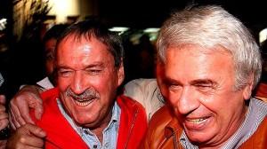 """De la Sota puso primera """"a fondo"""" en la campaña, sin Pregno de candidata"""