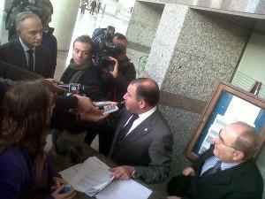 foto Juez presenta denuncia contra Simon
