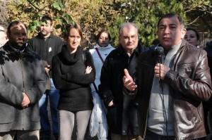 """En """"chocolateada independentista"""", Juez renovó sus críticas al bipartidismo"""