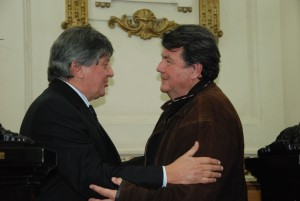 El hijo de Don Ata estuvo presente en el recinto de sesiones  PRENSA LEGISLATURA