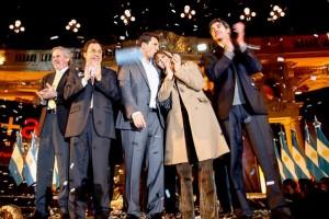 Massa con discurso anti reeleccionista, se presentó como nueva alternativa