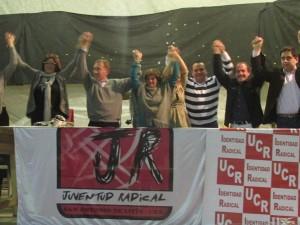 Rossi y candidatos Identidad Radical