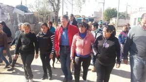 Schiaretti en barrio Gral Savio