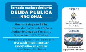 Jornada sobre Deuda Pública Nacional