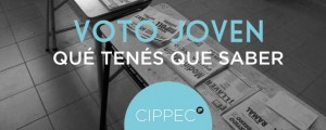 Voto joven CIPPEC 2