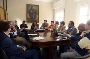 En debate del Senado, la creación del Consejo Económico y Social