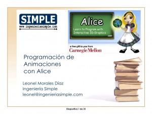 """Alumnos de escuelas municipales crearán animaciones en 3D con """"Alice"""""""