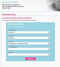 Una aplicación para buscar a tu candidato, las alianzas y partidos en las PASO