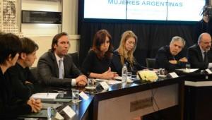 CFK anuncio imp a las ganancias