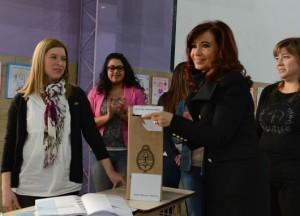 CFK voto