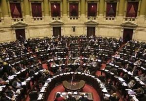Sesion Camara Diputados nación