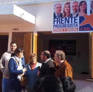 elecciones 2013 - foto juez, martinez para martes