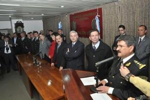 Almada nuevo jefe de policia