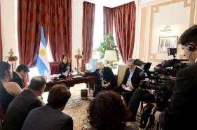 CFK y medios internacionales