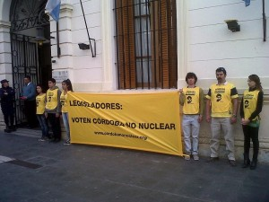 Cordoba no nuclear miercoles