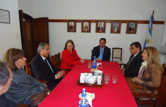 La junta de gobierno de faca se reuni en el norte del for Min interior y justicia