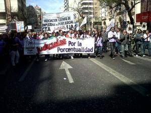 Movilización al Panal Judiciales 2