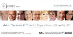 Elecciones: Exposición pública de candidatos en la UCC