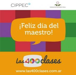 feliz dia del maestro Cippec
