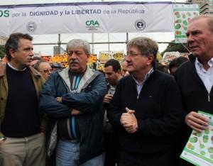 La Mesa de Enlace criticó al gobierno K y anunció protesta en el ministerio de agricultura