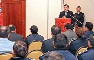 En agenda del congreso de Jefes de Policía, la coordinación para la prevención de delitos