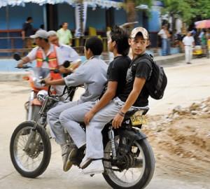 moto 3 chicos