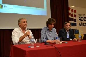 En campaña: Apoyo de Lousteau a la candidatura de Aguad