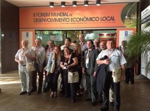 Delegación de ADEC en la Apertura deL FORO
