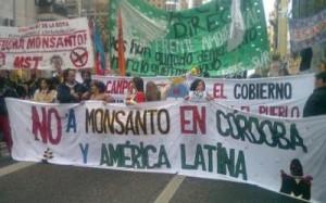 Monsanto: La protesta generó alerta de empresarios y gremios