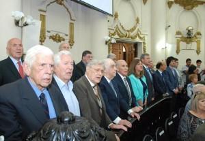 Los parlamentarios destacaron aciertos y deudas pendientes, al conmemorar 30 años de democracia