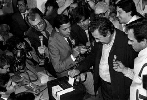 Dirigentes políticos y sociales celebraron los 30 años de continuidad democrática