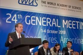 Se lleva a cabo reunión anual de la Academia Mundial de Ciencias