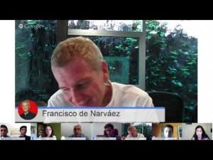 hangout con De Narvaez