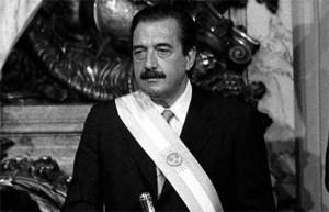 presidente alfonsin