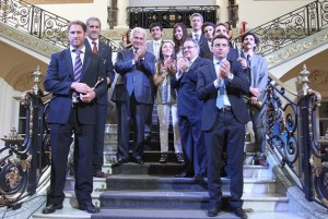 Los 10 Jóvenes Sobresaliente recibieron la distinción de la Bolsa de Comercio