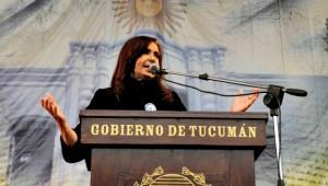 CFK en Tucuman 9 de julio