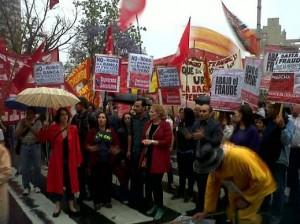 FIT manifestacion plaza españa